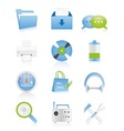 Web icons 15 vector image vector image