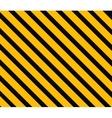 Danger background Orange and black stripes vector image