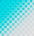 Abstract halftone background blue vector image vector image