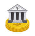 banking design vector image