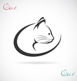 Cat design vector image vector image