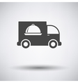 Delivering car icon vector image vector image