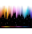 Disco colorful background vector image