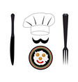 headdress cooks vector image vector image