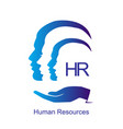 human resources design concept vector image vector image