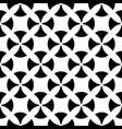 seamless pattern black white lattice texture vector image