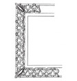 small frame for table top a small type design vector image vector image
