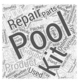 The Benefits of Having On Hand Swimming Repair vector image vector image