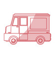 food truck design vector image