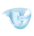 badiaper isolated on white background vector image vector image