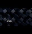 black weave pattern 3d vector image