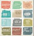 premium best choice grunge banner collection vector image vector image
