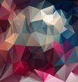 purple magenta blue triangular pattern background vector image