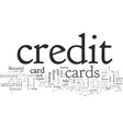 build your credit your life with secured credit vector image vector image
