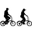 Large cyclists vector | Price: 1 Credit (USD $1)