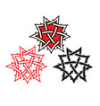 ornament tattoo vector image vector image