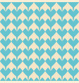 tile pattern with blue hearts on pastel background vector image vector image