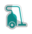 vacuum appliance isolated icon vector image vector image