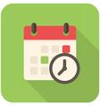 Meeting Deadlines icon vector image