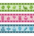 children's banners vector image vector image