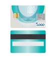 Credit Card Icon Isolated on white vector image vector image