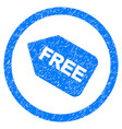 free sticker rounded grainy icon vector image vector image