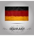 geometric polygonal Germany flag vector image vector image