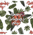 happy valentines day seamless pattern vector image vector image