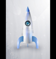 icon of rockets for space vector image vector image