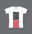 new york - t-shirt design tee shirt graphics with vector image