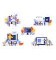online education course study seminar training vector image