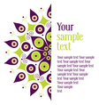 Perfect for invitations or announcements vector image vector image