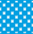 thick book pattern seamless blue vector image vector image