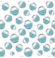 Blue travel bag seamless vector image