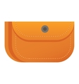 Purse wallet icon vector image