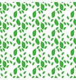 aepeating pattern arugula leaves on a light vector image vector image