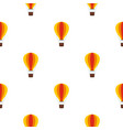 baloon pattern flat vector image