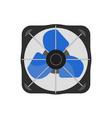 box air fan realistic vector image