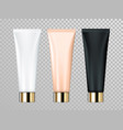 cream or lotion tube isolated skin care cosmetic vector image