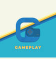 gameplay icon vector image vector image