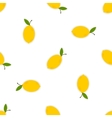 Lemons on a white background vector image vector image