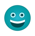 smile emoticon icon vector image vector image