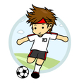 Soccer players vector | Price: 3 Credits (USD $3)