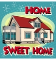 Sweet home cottage vector image vector image