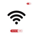 wifi signal icon wireless symbol connection vector image vector image
