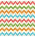 zigzag chevron pattern vector image vector image
