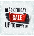 Black Friday Sale abstract banner vector image vector image
