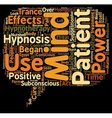 Is Hypnosis A Circus Act text background wordcloud