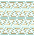 Seamless patterns Blue and gold seamless vector image vector image