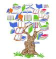 tree book vector image